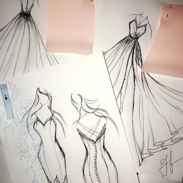 Robe du soir créatrice à Paris princesse