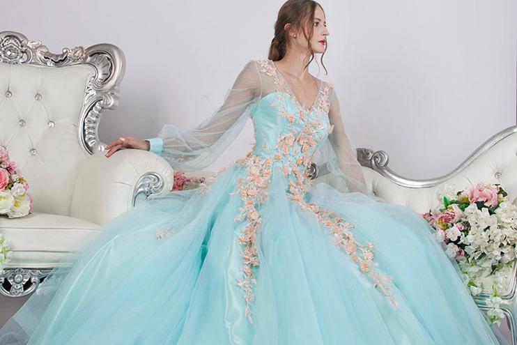 Acheter robe du soir pour fiançailles Paris