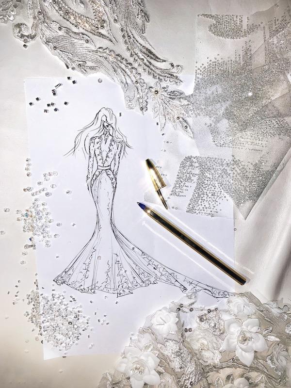 Couturier créateur robe de mariage retouche Paris