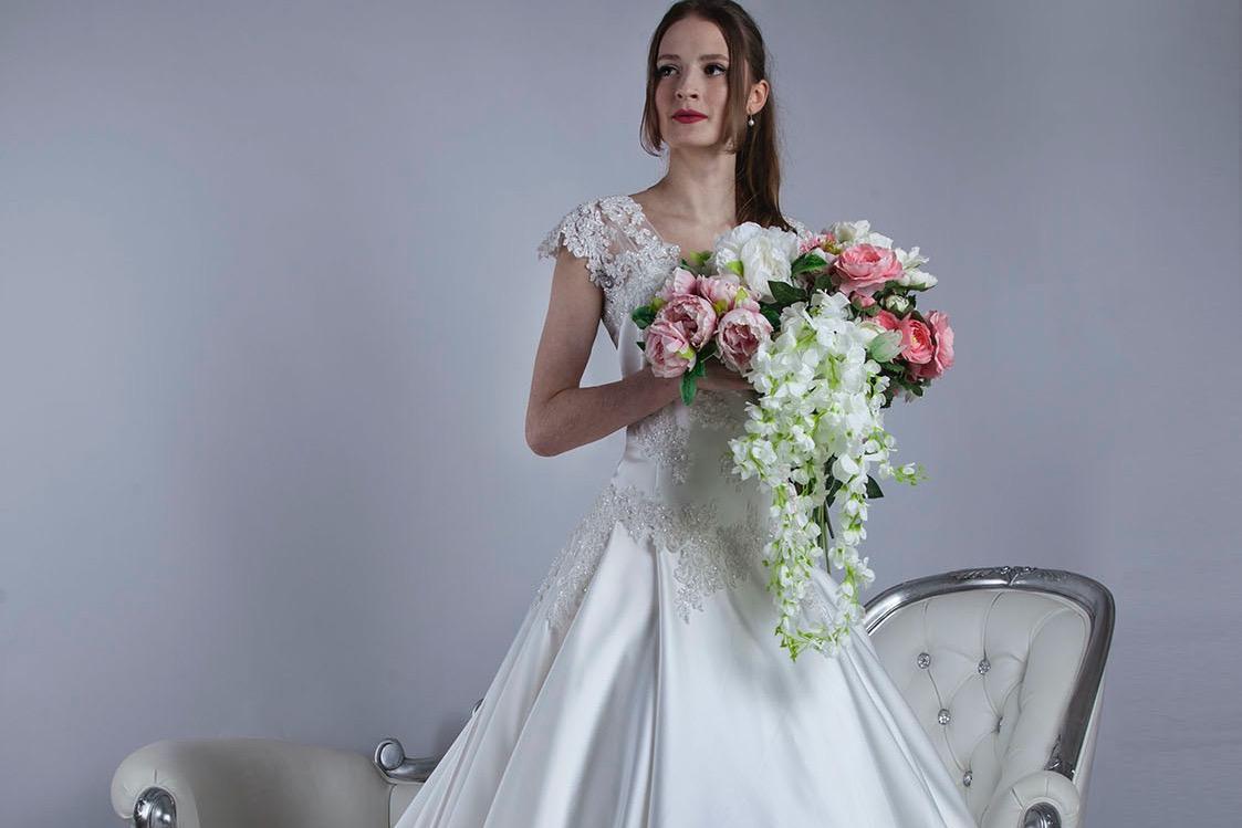 Robe de mariée sur mesure patronage personnalisé