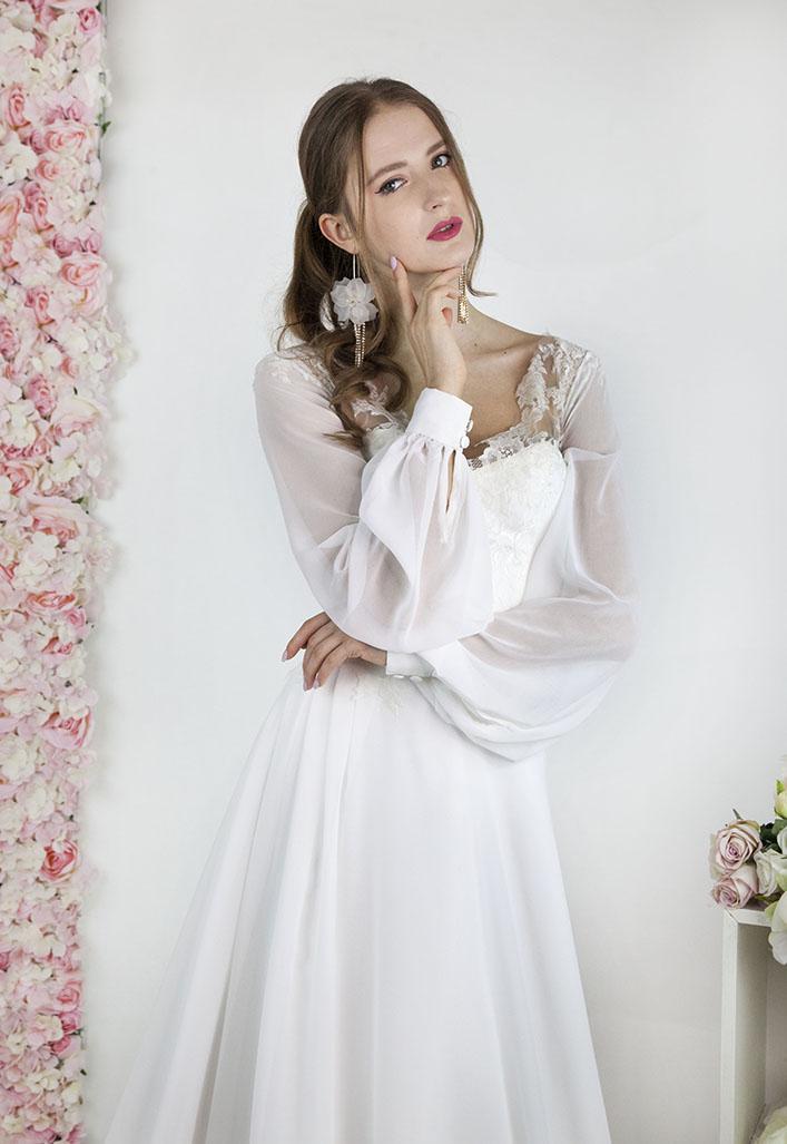 Magasin robe de mariage style bohème chic à Paris