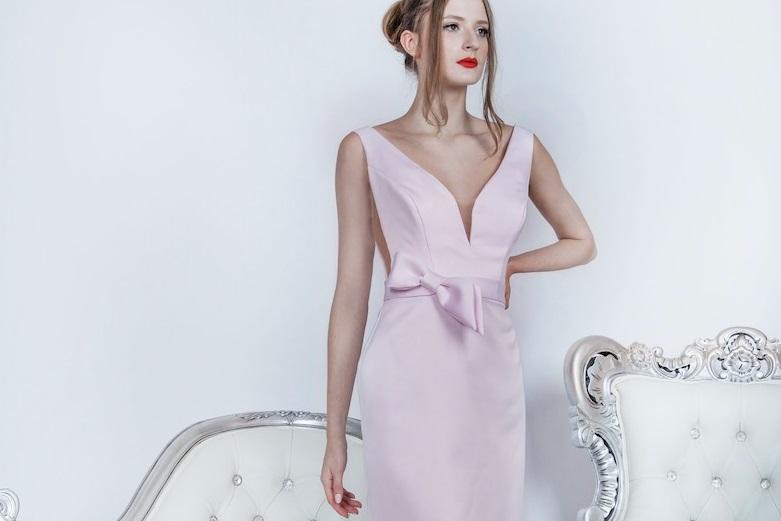 Robe de cocktail courte pour mariage à Paris
