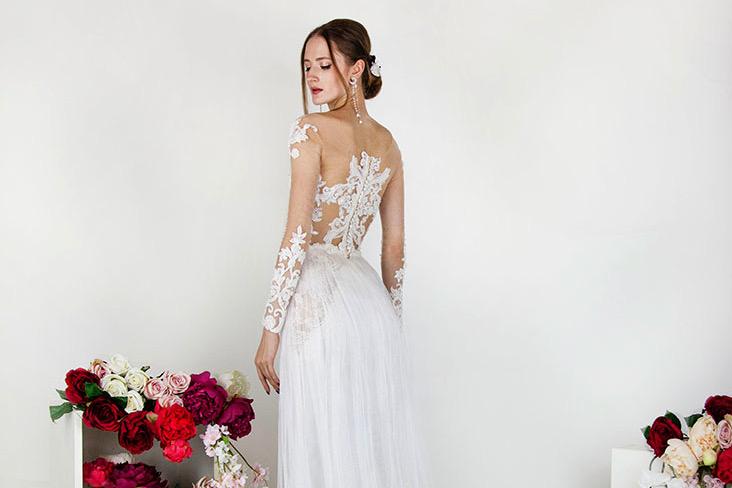 Choisir sa robe de mariée princesse à Paris