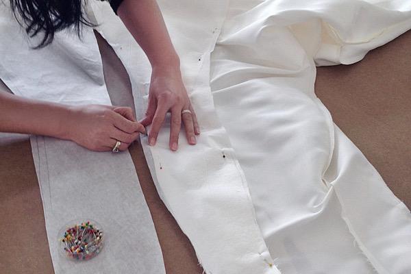 Retoucher ma robe de mariée à Paris