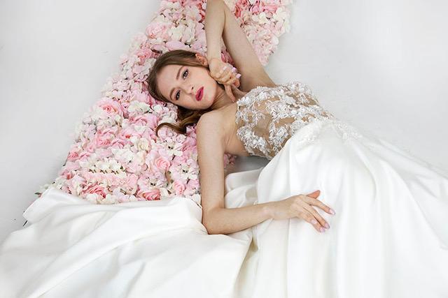 Robe de mariage sur mesure à Paris créatrice
