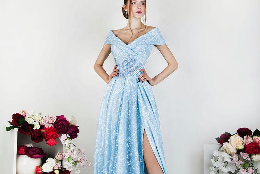 Une sublime robe de soirée élégante pour la bar mitzvah